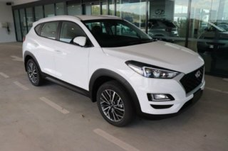 2020 Hyundai Tucson TL4 MY21 Active X 2WD Pure White 6 Speed Manual Wagon.