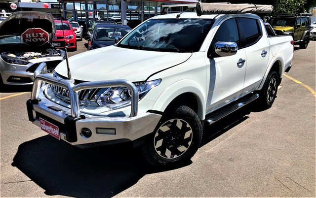 Used Mitsubishi Triton MQ MY16 Exceed Double Cab Seaford, 2016 Mitsubishi Triton MQ MY16 Exceed Double Cab White 5 Speed Sports Automatic Utility