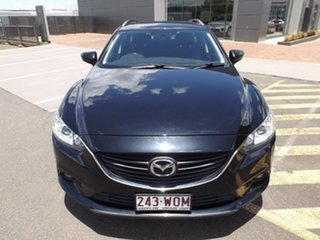 2014 Mazda 6 GJ1031 MY14 Sport SKYACTIV-Drive Black 6 Speed Sports Automatic Wagon