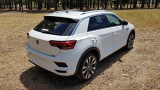 2020 Volkswagen T-ROC A1 MY21 140TSI DSG 4MOTION Sport Pure White 7 Speed
