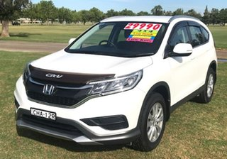 2017 Honda CR-V RM Series II MY17 VTi 4WD White 5 Speed Sports Automatic Wagon.