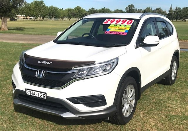 Used Honda CR-V RM Series II MY17 VTi 4WD Tamworth, 2017 Honda CR-V RM Series II MY17 VTi 4WD White 5 Speed Sports Automatic Wagon