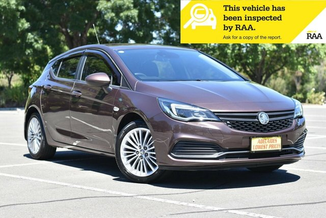 Used Holden Astra BK MY17 R Enfield, 2017 Holden Astra BK MY17 R Grey 6 Speed Sports Automatic Hatchback