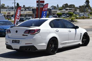 2016 Holden Special Vehicles ClubSport Gen-F2 MY16 R8 SV Black White 6 Speed Sports Automatic Sedan