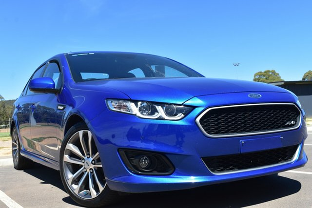 Used Ford Falcon FG X XR6 St Marys, 2015 Ford Falcon FG X XR6 Blue 6 Speed Sports Automatic Sedan