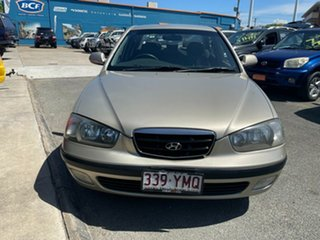 2002 Hyundai Elantra XD GL Gold 4 Speed Automatic Sedan.