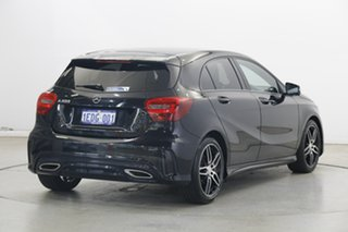 2016 Mercedes-Benz A-Class W176 806MY A200 D-CT Black 7 Speed Sports Automatic Dual Clutch Hatchback
