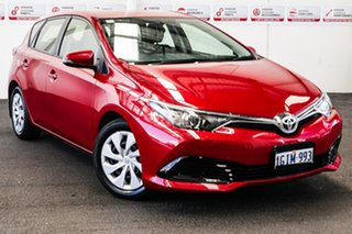 2017 Toyota Corolla ZRE182R MY17 Ascent Wildfire 7 Speed CVT Auto Sequential Hatchback.