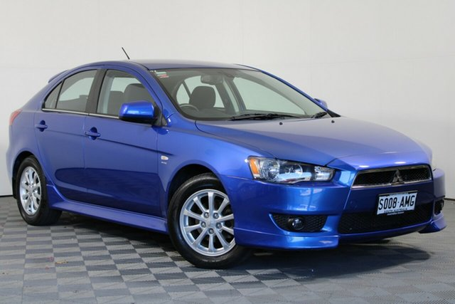 Used Mitsubishi Lancer CJ MY11 VR Sportback Wayville, 2011 Mitsubishi Lancer CJ MY11 VR Sportback Lightning Blue 6 Speed Constant Variable Hatchback