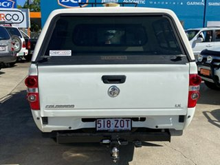 2008 Holden Colorado RC LX Crew Cab 4x2 White 4 Speed Automatic Utility
