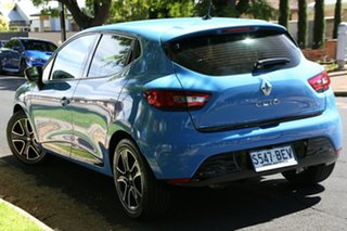 2014 Renault Clio IV B98 Expression EDC Blue 6 Speed Sports Automatic Dual Clutch Hatchback.