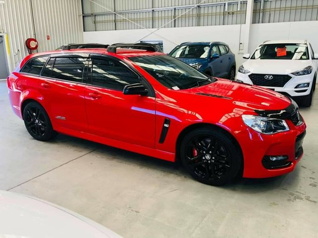 Used Holden Commodore VF II MY17 SS V Sportwagon Redline Epsom, 2017 Holden Commodore VF II MY17 SS V Sportwagon Redline 6 Speed Sports Automatic Wagon