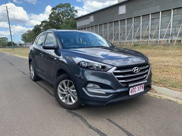 Pre-Owned Hyundai Tucson TL Upgrade Active (FWD) Oakey, 2017 Hyundai Tucson TL Upgrade Active (FWD) Grey 6 Speed Automatic Wagon
