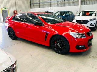 2017 Holden Commodore VF II MY17 SS V Redline Red 6 Speed Manual Sedan.