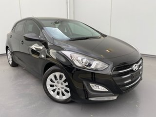 2015 Hyundai i30 GD3 Series II MY16 Active Black 6 Speed Sports Automatic Hatchback.