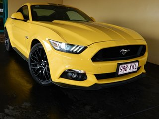 2016 Ford Mustang FM MY17 Fastback GT 5.0 V8 Yellow 6 Speed Automatic Coupe