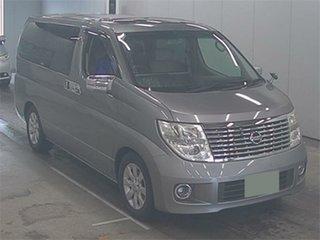 2008 Nissan Elgrand E51 XL Grey Automatic Wagon.