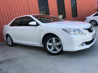 2012 Toyota Aurion GSV50R Touring White 6 Speed Sports Automatic Sedan.