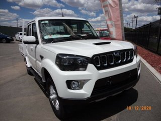 2020 Mahindra Pik-Up MY20 4WD S10+ Arctic White 6 Speed Manual Dual Cab Utility.
