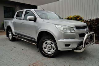 2015 Holden Colorado RG MY16 LS-X Crew Cab Silver 6 Speed Sports Automatic Utility.