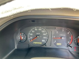 2001 Nissan Patrol GU II ST Brown 5 Speed Manual Wagon