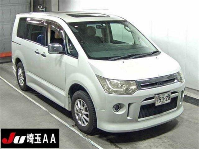 Used Mitsubishi Delica Silverwater, 2008 Mitsubishi Delica D:5 CV5W White Constant Variable Van Wagon