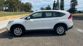 2013 Honda CR-V RM MY14 VTi White 5 Speed Automatic Wagon