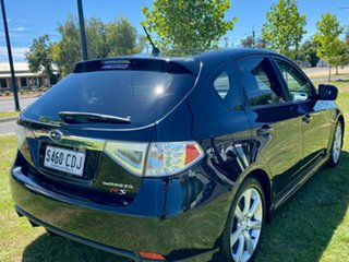 2008 Subaru Impreza G3 MY08 RS AWD Black 4 Speed Sports Automatic Hatchback