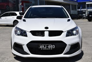 2016 Holden Special Vehicles ClubSport Gen-F2 MY16 R8 SV Black White 6 Speed Sports Automatic Sedan.