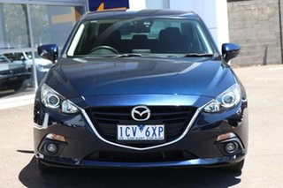 2014 Mazda 3 BM5238 SP25 SKYACTIV-Drive Blue 6 Speed Sports Automatic Sedan