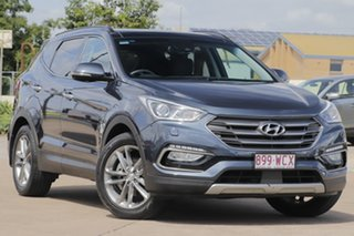2015 Hyundai Santa Fe DM3 MY16 Highlander Blue 6 Speed Sports Automatic Wagon.