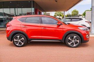 2016 Hyundai Tucson TLE Highlander AWD Red 6 Speed Sports Automatic Wagon