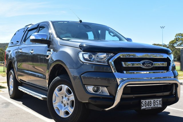 Used Ford Ranger PX MkII XLT Double Cab St Marys, 2017 Ford Ranger PX MkII XLT Double Cab Grey 6 Speed Sports Automatic Utility