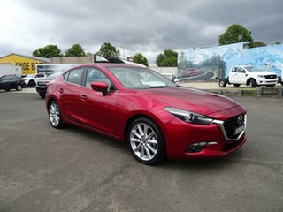 2018 Mazda 3 BN5238 SP25 SKYACTIV-Drive GT Soul Red 6 Speed Sports Automatic Sedan.