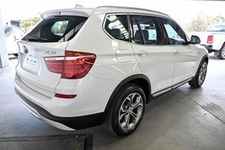 2015 BMW X3 F25 LCI xDrive20i Steptronic White 8 Speed Automatic Wagon