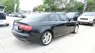 2015 Audi A4 B8 8K MY15 S Line Multitronic Black 8 Speed Constant Variable Sedan