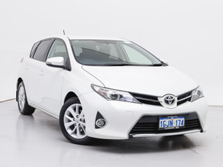 2014 Toyota Corolla ZRE182R Ascent Sport White 7 Speed CVT Auto Sequential Hatchback.