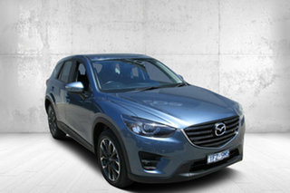 2016 Mazda CX-5 KE1032 Grand Touring SKYACTIV-Drive AWD Blue 6 Speed Sports Automatic Wagon.