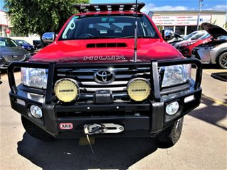 2014 Toyota Hilux KUN26R MY14 SR5 Double Cab Red 5 Speed Manual Utility.