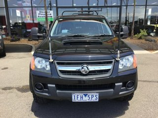 2010 Holden Colorado RC MY10 LT-R (4x4) Black 4 Speed Automatic Crew Cab Pickup.
