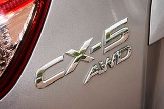 2013 Mazda CX-5 KE1021 MY13 Maxx SKYACTIV-Drive AWD Sport Silver 6 Speed Sports Automatic Wagon