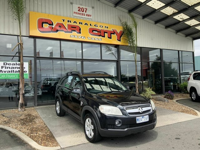 Used Holden Captiva CG MY09 CX (4x4) Traralgon, 2008 Holden Captiva CG MY09 CX (4x4) Black 5 Speed Automatic Wagon