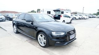 2015 Audi A4 B8 8K MY15 S Line Multitronic Black 8 Speed Constant Variable Sedan.