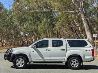 2012 Isuzu D-MAX MY12 LS-Terrain Crew Cab White 5 Speed Manual Utility