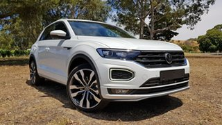 2020 Volkswagen T-ROC A1 MY21 140TSI DSG 4MOTION Sport Pure White 7 Speed.