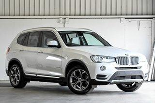 2015 BMW X3 F25 LCI xDrive20i Steptronic White 8 Speed Automatic Wagon.