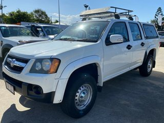 2008 Holden Colorado RC LX Crew Cab 4x2 White 4 Speed Automatic Utility.