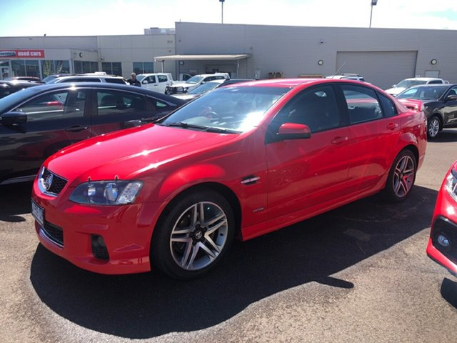 Used Holden Commodore VE II MY12 SV6 Devonport, 2012 Holden Commodore VE II MY12 SV6 Red Hot 6 Speed Sports Automatic Sedan