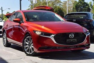 2020 Mazda 3 BP2S76 G20 SKYACTIV-MT Evolve Red 6 Speed Manual Sedan.