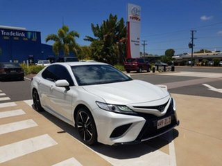 2019 Toyota Camry ASV70R SX Frosted White 6 Speed Sports Automatic Sedan.